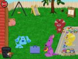 Blue's Clues: Blue's Art Time Activities Windows Blue's friends invite her to a hopscotch board game