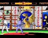 Super TaeKwonDo Master Amiga Shadow match - preparing an attack