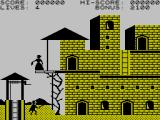 Zorro ZX Spectrum Game start