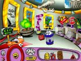 Putt-Putt Travels Through Time Windows Trading one old food-holding artifact for another - Putt-Putt's lost lunchbox.