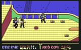 Skull & Crossbones Commodore 64 Tis a raiding party on the orange ship! HAAAAA!