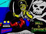 Skull & Crossbones ZX Spectrum Loading screen