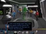 "Star Trek: The Next Generation - ""A Final Unity"" DOS A hologram. It's Geordi's expertise."
