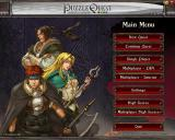 Puzzle Quest: Challenge of the Warlords Windows Main menu
