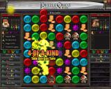 Puzzle Quest: Challenge of the Warlords Windows When matching four or more tiles you get an extra turn.