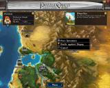 Puzzle Quest: Challenge of the Warlords Windows Town menu