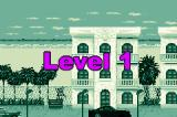 VIP Game Boy Advance Level's number and type of location in background...