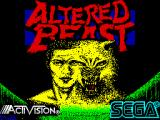 Altered Beast ZX Spectrum Loading Screen