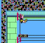 WCW: World Championship Wrestling NES Performing a submission special move.