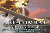 Ace Combat Advance Game Boy Advance Title screen.