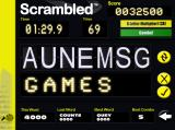 Scrambled Macintosh Game play in Replace mode