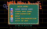 Framed DOS Main Menu