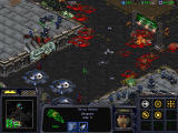 StarCraft Windows Clock is counting down to your retreat, and yet you're winning.