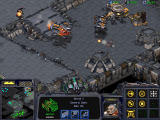 StarCraft Windows Attacking enemy cruiser while cloaked, enemy cannot return fire unless uncovering you somehow.