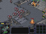 StarCraft Windows Tank barrage is the best, but they're defenseless from atop.