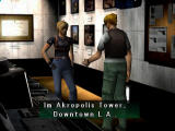 Parasite Eve II PlayStation Conversation with Pierce