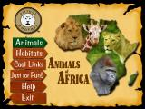Animals of Africa Windows Title page