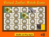 Animals of Africa Windows A variation of a concentration/match game
