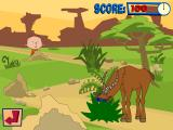 Playhouse Disney's: Stanley Tiger Tales Windows Sneaking up on an antelope...