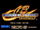 The King of Fighters: Evolution Windows Title screen