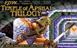 Temple of Apshai Trilogy Amiga Title screen