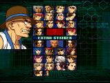 The King of Fighters: Evolution Windows Fighter selection