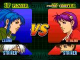 The King of Fighters: Evolution Windows Leona vs Athena
