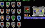 Bloodwych Amiga Please select your champion.