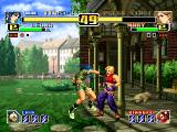 The King of Fighters: Evolution Windows Leona vs Mary