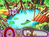 Putt-Putt Saves the Zoo Windows Putt-Putt is about to do a Tarzan thing!