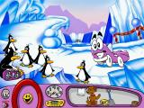 Putt-Putt Saves the Zoo Windows Everybody's dancin' to the penguin boombox - even Pep!