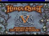 King's Quest V: Absence Makes the Heart Go Yonder! Windows 3.x Title sequence