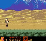 VIP Game Boy Color As Val Irons in the desert...