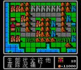 Famicom Wars NES One particular map