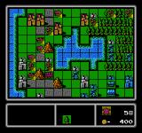 Famicom Wars NES Terrain determines much about a battle, including which routes are best for movement.
