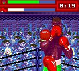 "Evander Holyfield's ""Real Deal"" Boxing Game Gear How can I beat this guy if he defends every punch I throw?"