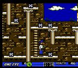Skull & Crossbones NES The final level, the Wizard's lair
