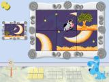 Blue's Treasure Hunt Windows A sliding puzzle with a choose-your-own-level feature.