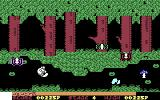 Olli & Lissa: The Ghost of Shilmore Castle Commodore 64 Pixel-perfect jumping is required to avoid the baddies.