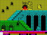 Olli & Lissa: The Ghost of Shilmore Castle ZX Spectrum Game start