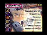 Who Killed Taylor French?: The Case of the Undressed Reporter Windows 3.x Main menu