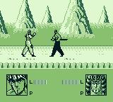 Sakigake Otokojuku: Meiōtō Kessen Game Boy I must face this opponent and the next without a rest. This guy gives as good as he gets.