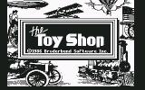 The Toy Shop Commodore 64 Title screen