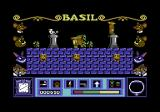 Basil the Great Mouse Detective Commodore 64 The arrow shows the way to the exit