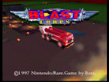 Blast Corps Nintendo 64 Title screen