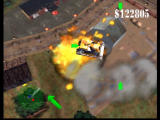 Blast Corps Nintendo 64 The bulldozer is easy to use and powerful.