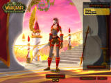 World of Warcraft: The Burning Crusade Windows The character selection screen