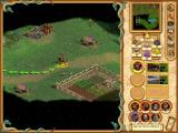 Heroes of Might and Magic IV: Winds of War Windows A barbarian army with two of the new units