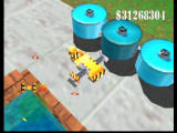 Blast Corps Nintendo 64 This odd vehicle attacks buildings from the side.