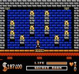 The Addams Family NES A secret room
